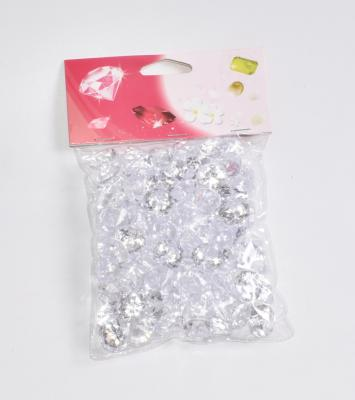 100 pcs diamants en acrylique Ø2cm